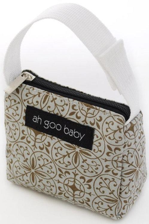 Ah Goo Baby Pacifier Tote -Morocco