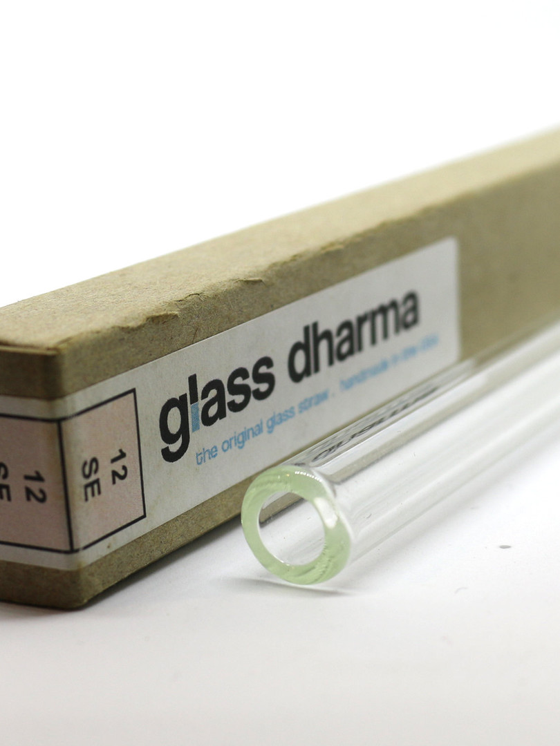 Glass Dharma Glass Straws