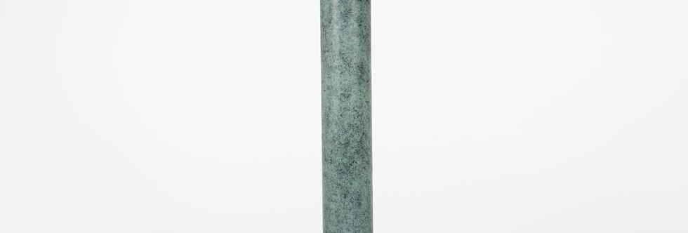 Grand vase en bronze patiné