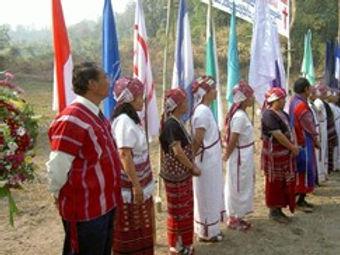 Karen story opening church at Baan Nok.j