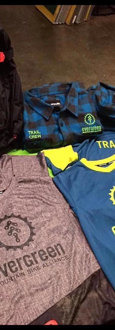 Jersey's for Evergreen Mountain Bike Alliance