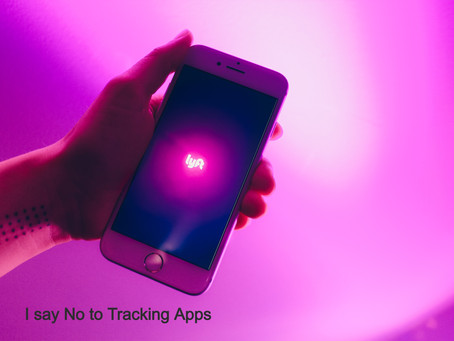 Tracking Apps -       No Thank You