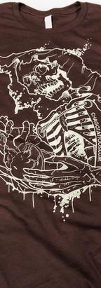 One color prints for tattoo artist Chago Garcia