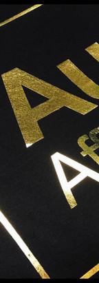 Gold Foil Print