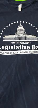 Shirts for Evergreen Mountain Bike Alliance Legislative Day