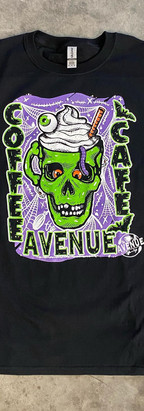 6 Color print for The Avenue Coffee Cafe