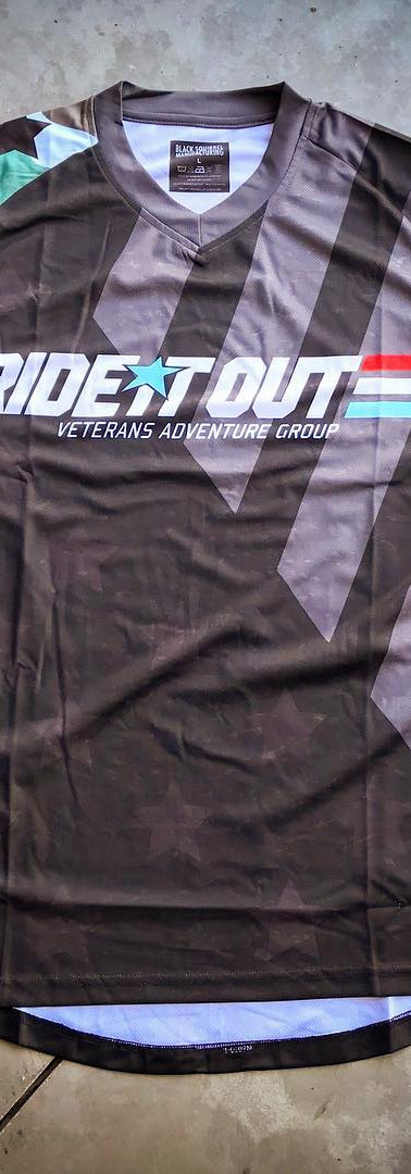 Fully custom Cut and sew apparel for Ride it Out