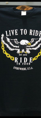 Two Color print for Ride to Food