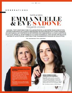 EMMANUELLE & EVE SADONE