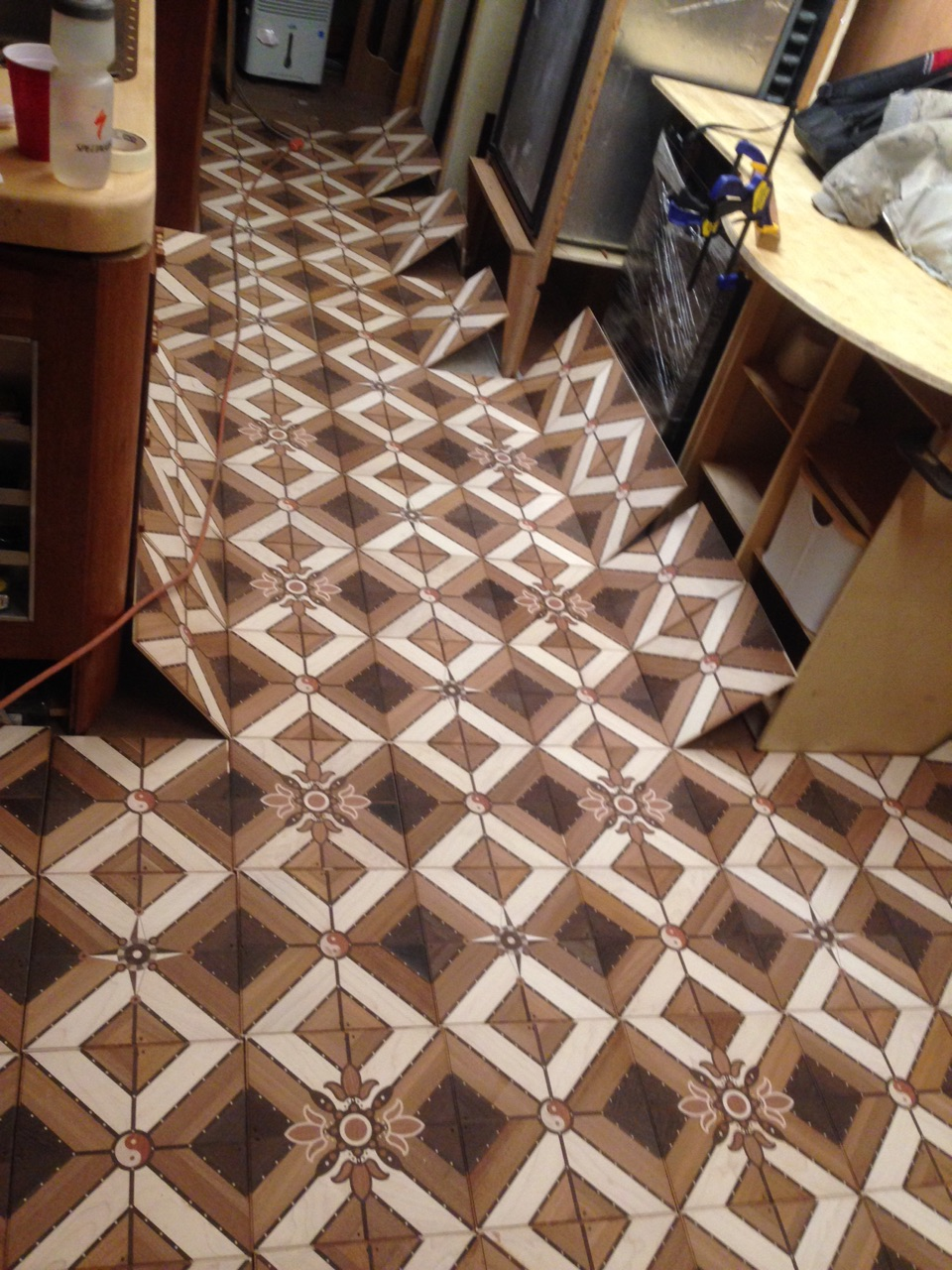 Parquet layout test