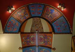 Dinette ceiling