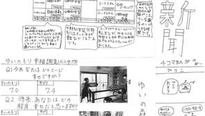 スクールワーク:ゆい森新聞の完成!