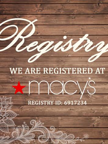 Registry _ Macy's