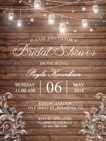 Briday Shower Card _ Winter