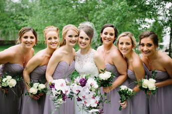 Bridal + Bridal Party Makeup