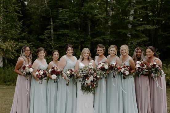 Bridal + Bridal Party Makeup