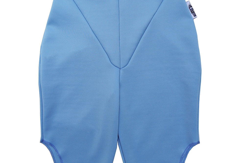 Cut Out Cycling Shorts in BabyBlue