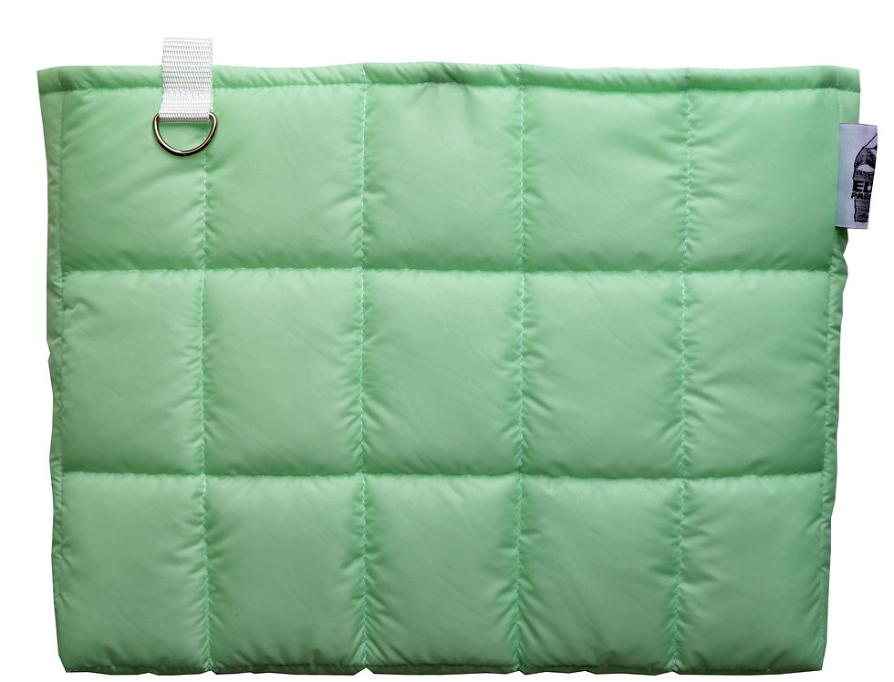 Mint Jumbo Clutch Bag