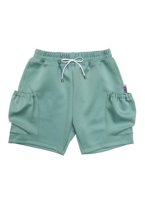 Scuba Cargo Shorts in Pistachio