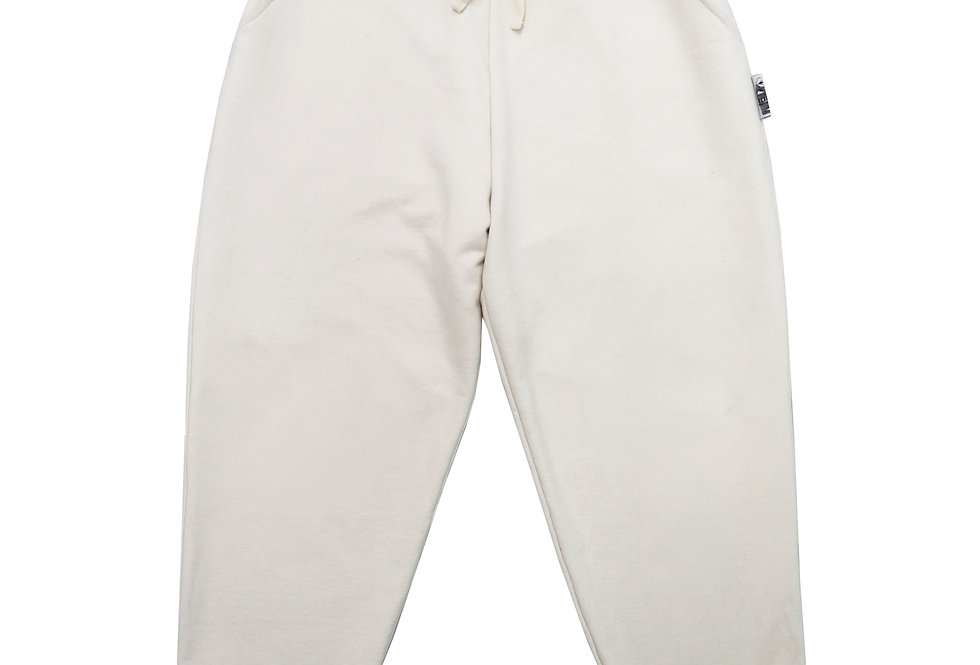 Hourglass Joggers in Parchment