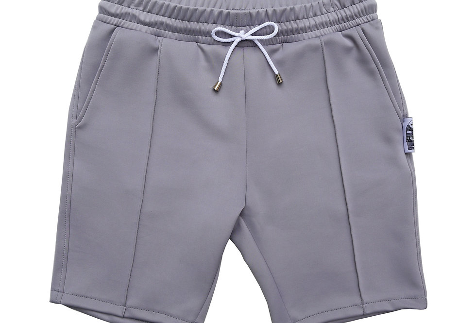 MENS Slim Scuba Shorts in Oyster