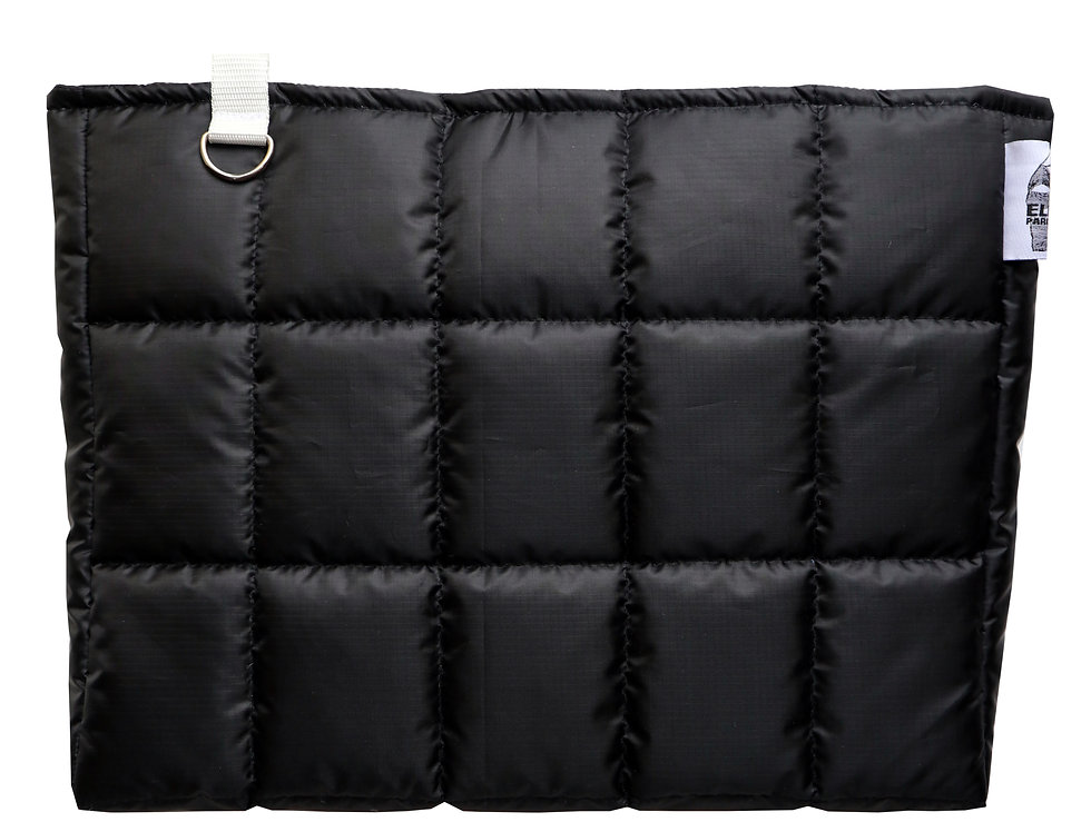 Black Jumbo Clutch Bag