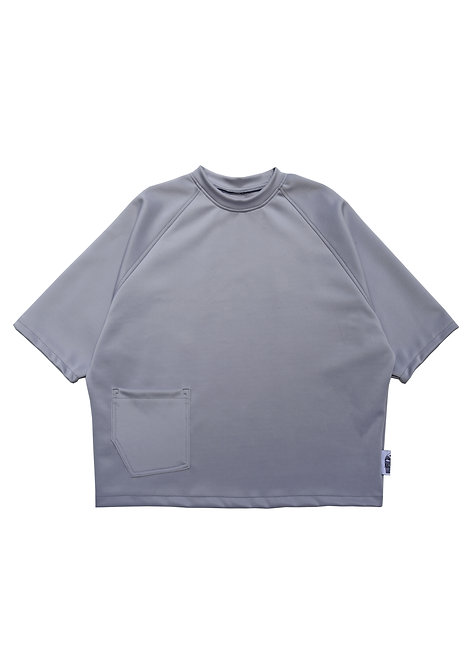 MENS Oversized Scuba T-shirt in Oyster