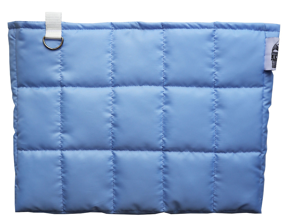 BabyBlue Jumbo Clutch Bag