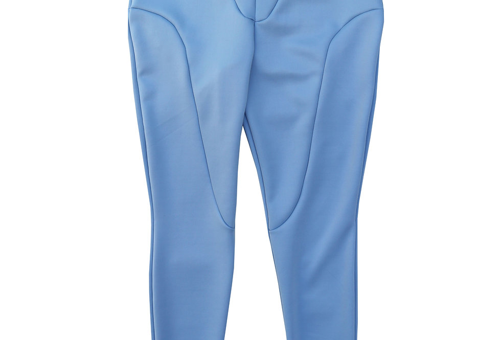 Regular Split Seam Leggings in BabyBlue