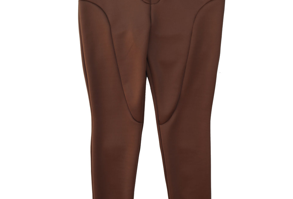 Tall Split Seam Leggings in Cocoa