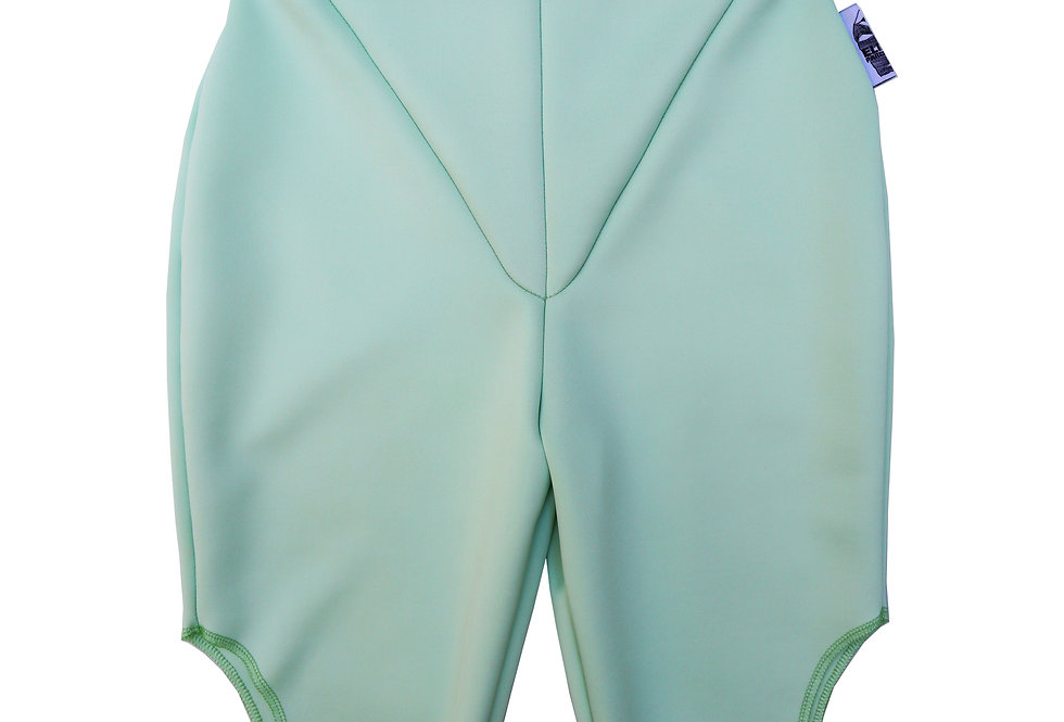 Cut Out Cycling Shorts in Mint