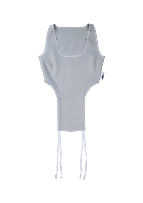 String Vest in Pebble