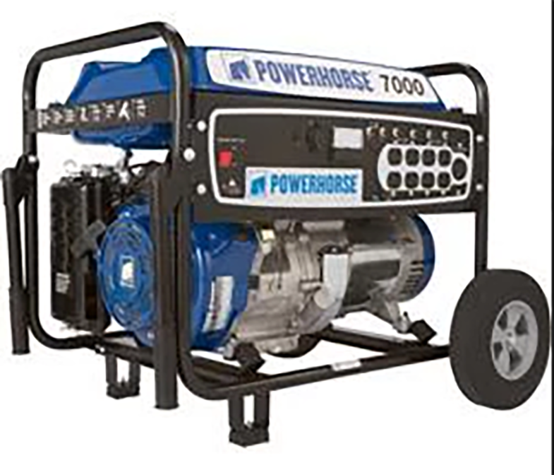 Powerhorse 7000 Generator Rental