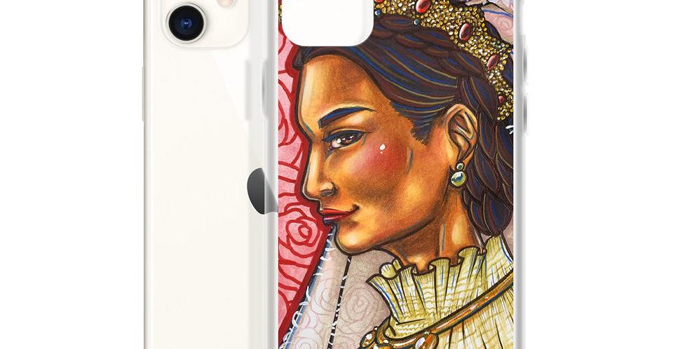 Tzipora Art | The Mad Queen, Ranavalona I iPhone Case