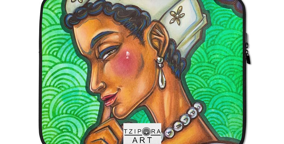 Tzipora Art | The Aristocrat, Dido Elizabeth Belle Laptop Sleeve