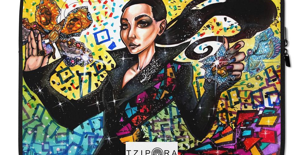 Tzipora Art   Cindy Chao Laptop Sleeve