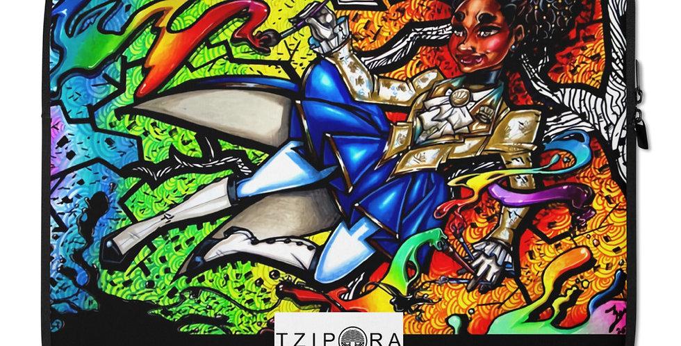 Tzipora Art | Original Character Laptop Sleeve