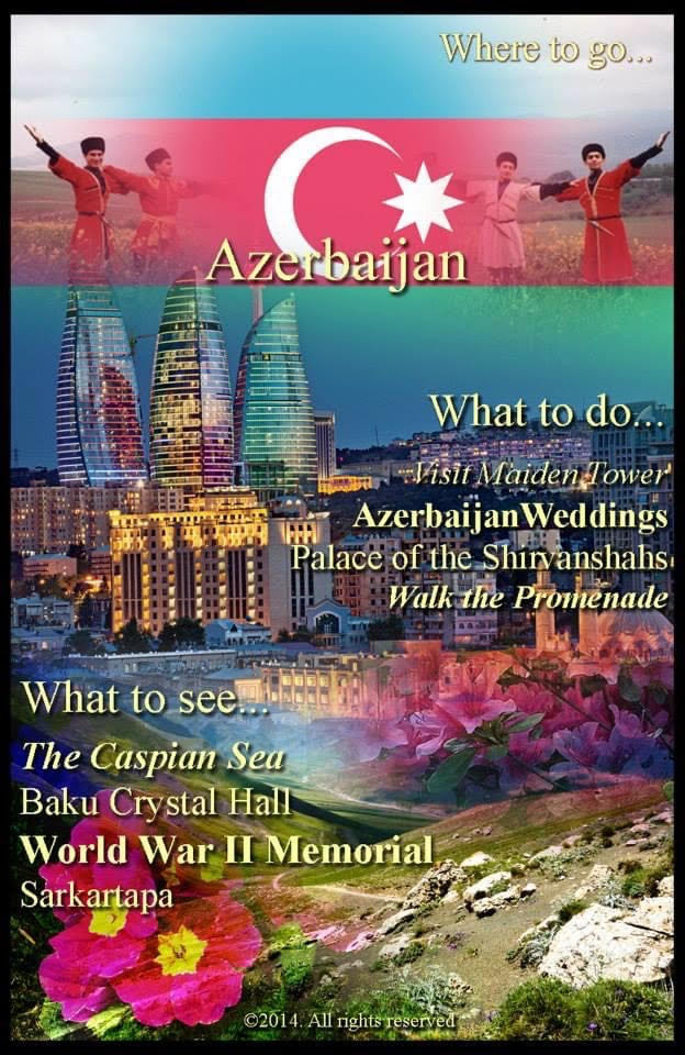 """Travel to Azerbaijan"""
