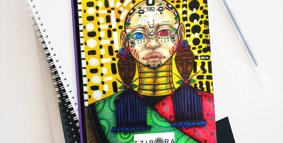 """Tribes-member II"" Premium Art Journal"