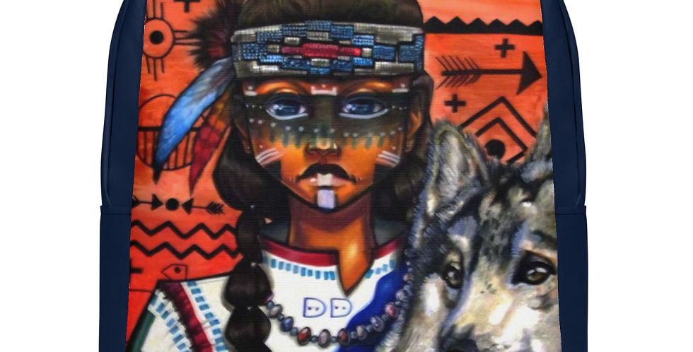 Tzipora Art | Native American Heritage II Minimalist Backpack