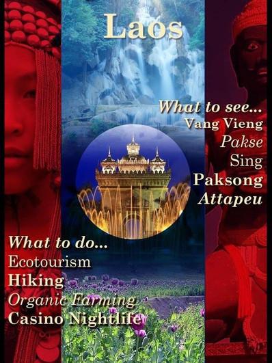 """""""Travel to Laos"""""""