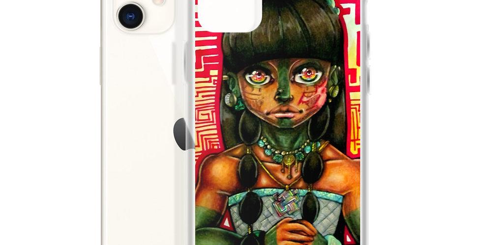 Tzipora Art | Mayan Girl, Itzel iPhone Case
