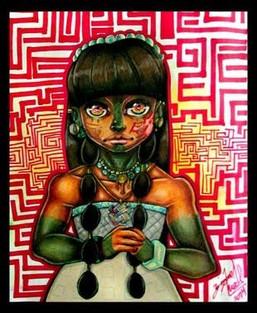 """Mayan Girl, Itzel"""