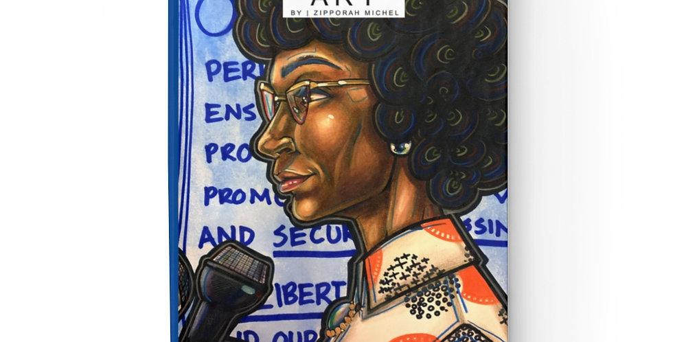 """American Politician, Shirley Anita Chisholm"" Writing Journal"