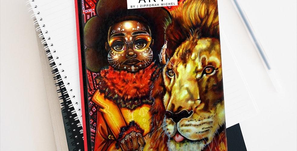 """National World Lion Day I"" Premium Art Journal"