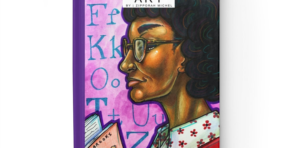 """""""Pulitzer Prize Author, Gwendolyn Brooks"""" Writing Journal"""