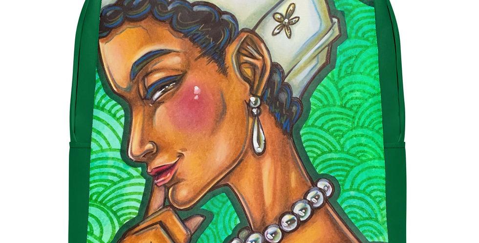 Tzipora Art   The Aristocrat, Dido Elizabeth Belle Minimalist Backpack