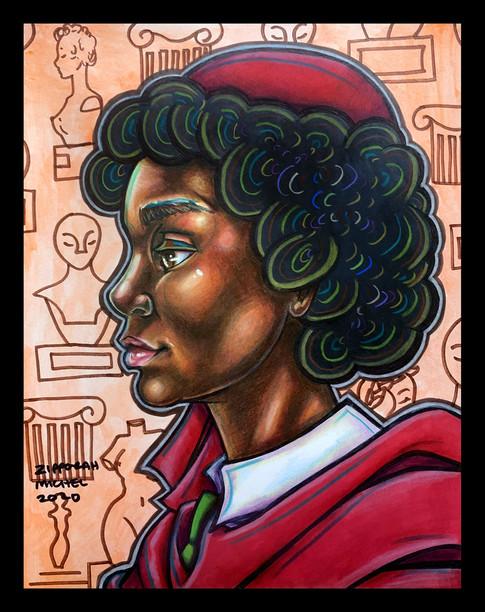 """Prominent Sculptor, Edmonia Lewis"""