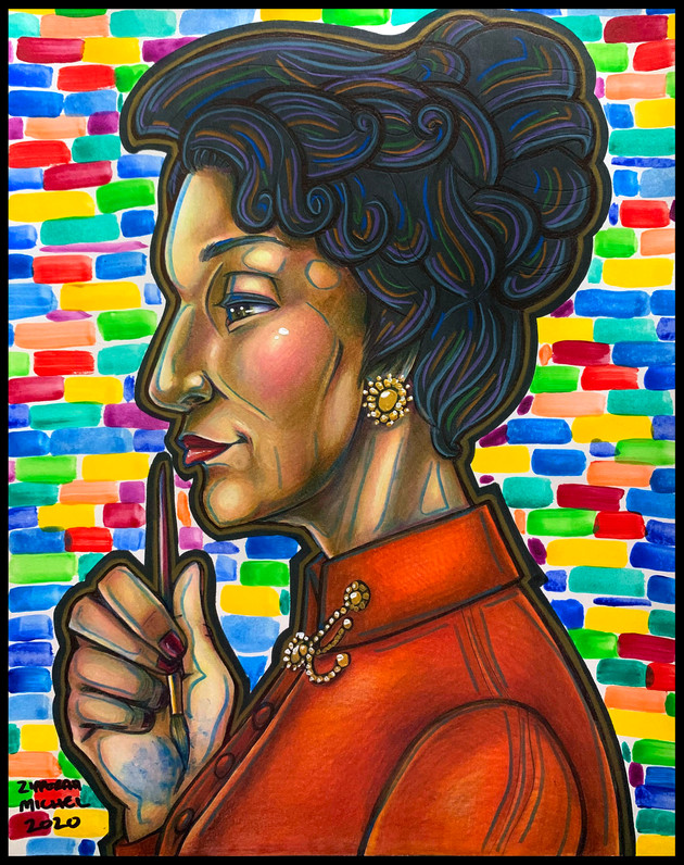 """""""The Expressionist Painter, Alma Woodsey Thomas"""