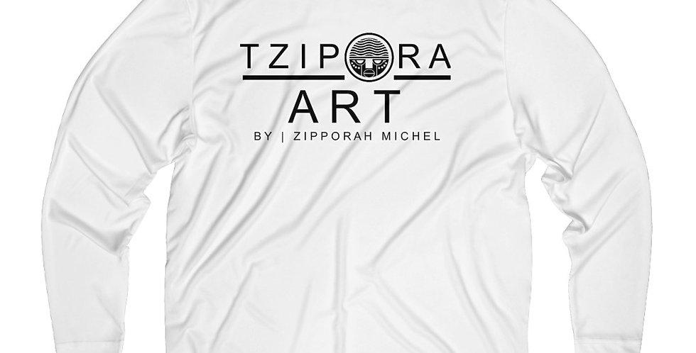 Tzipora Art Men's Long Sleeve Moisture Absorbing Tee
